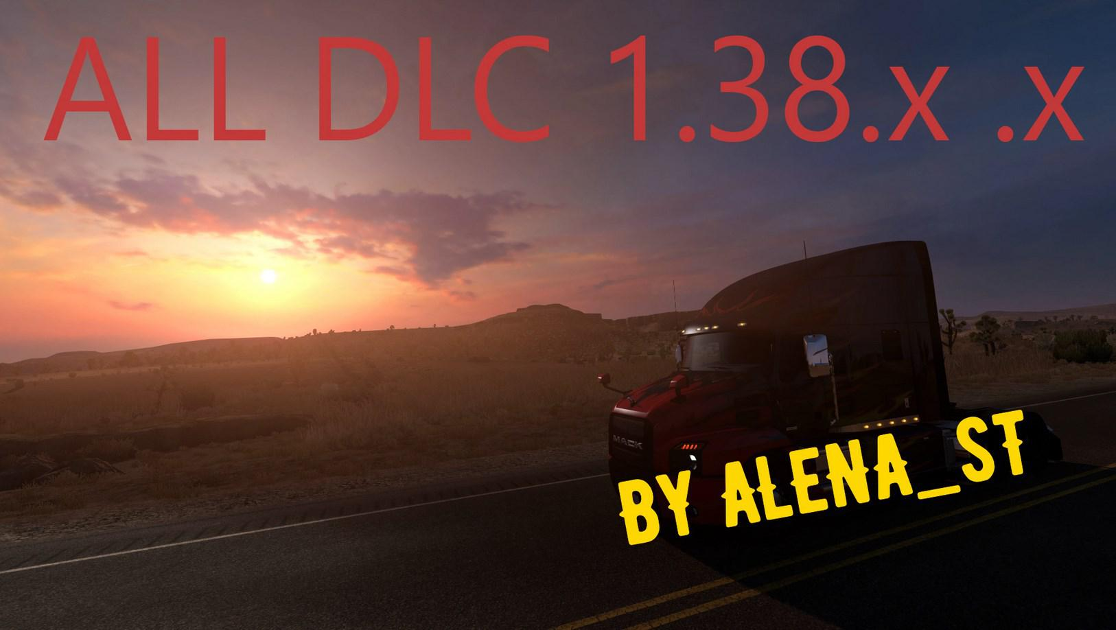 ATS - Full Save %100 All DLC (1.38.x)