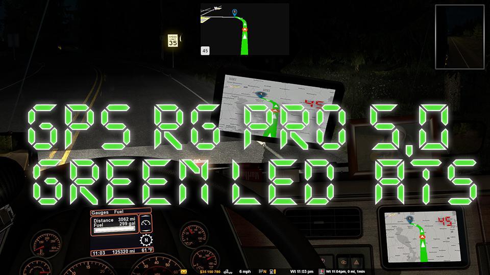 ATS - GPS RG Pro Green Led V5 (1.38.x)