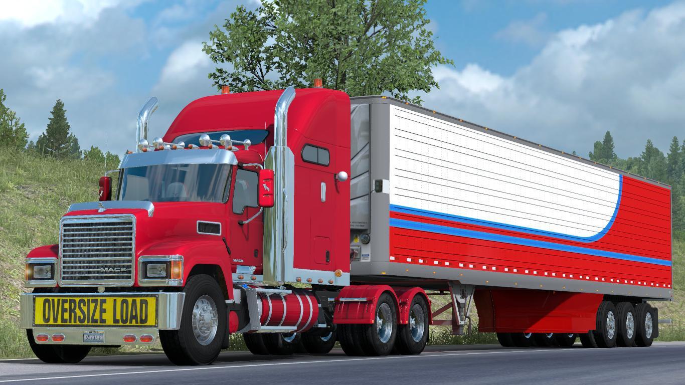 ATS - Mack Pinnacle CHU613 Truck V1.4 [REL] 1.37.x