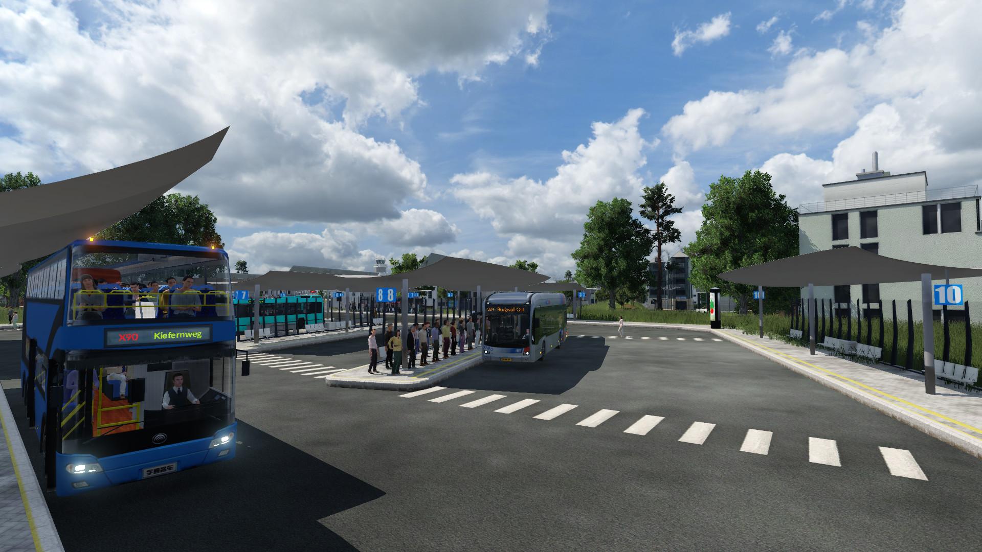 Transport Fever 2 - Busbahnhof