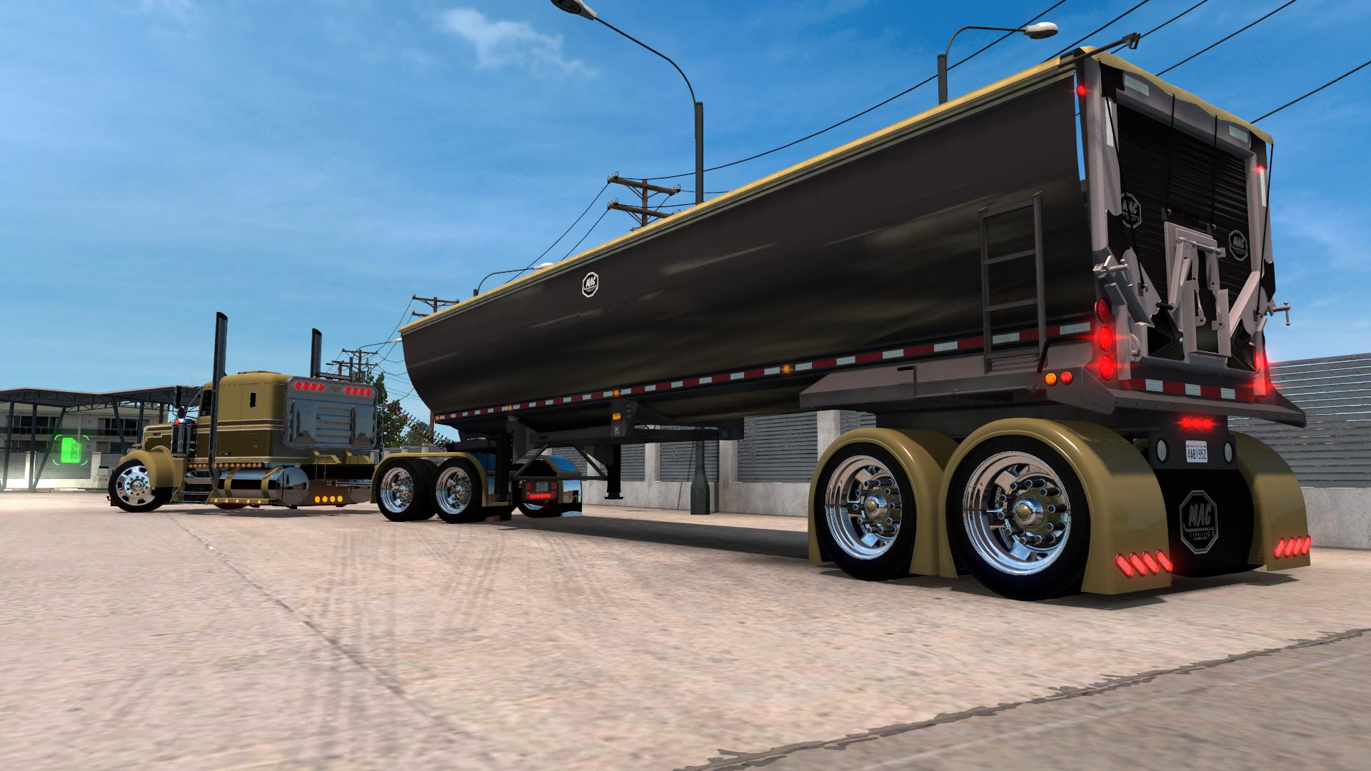 ATS - Alcoa Huge Rims (Truck And Trailer) V1.0 (1.39.x)