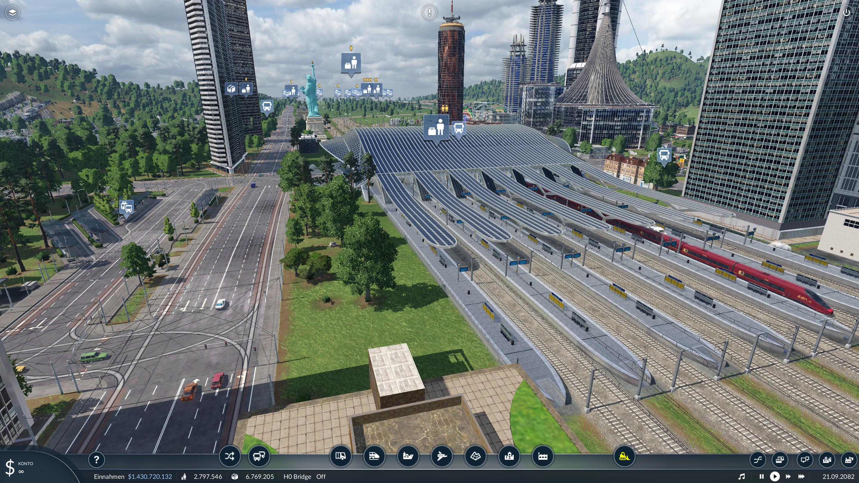 Transport Fever 2 - Liege-Guillemins Railway Station