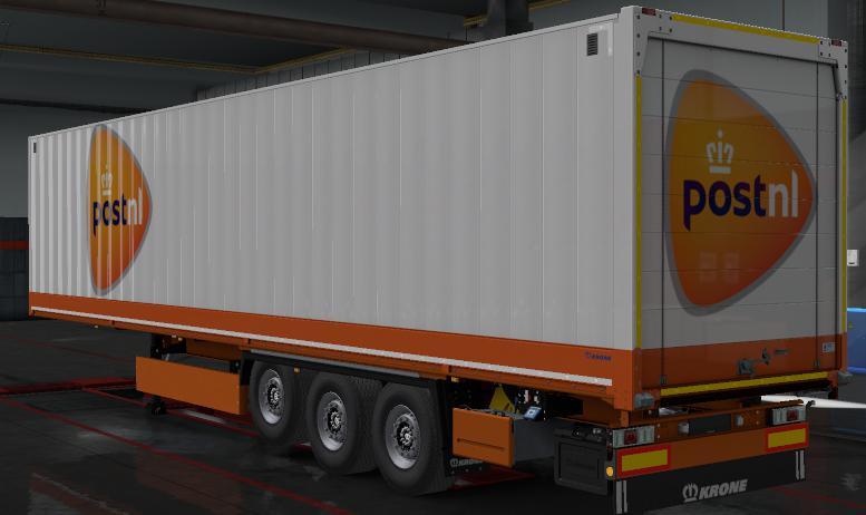 ETS2 - Krone Dryliner Courier Companies Skins (1.36.x)