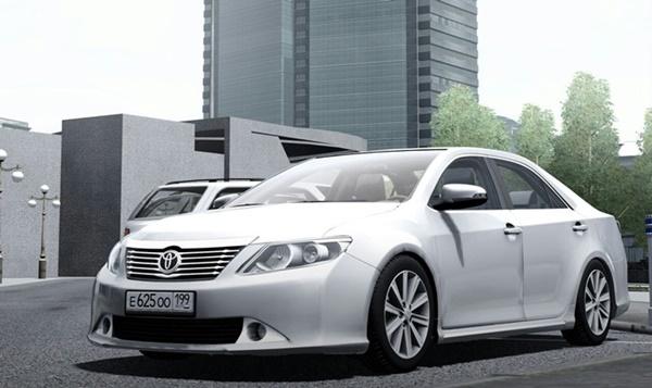 City Car Driving 1.5.9 - Toyota Camry V50