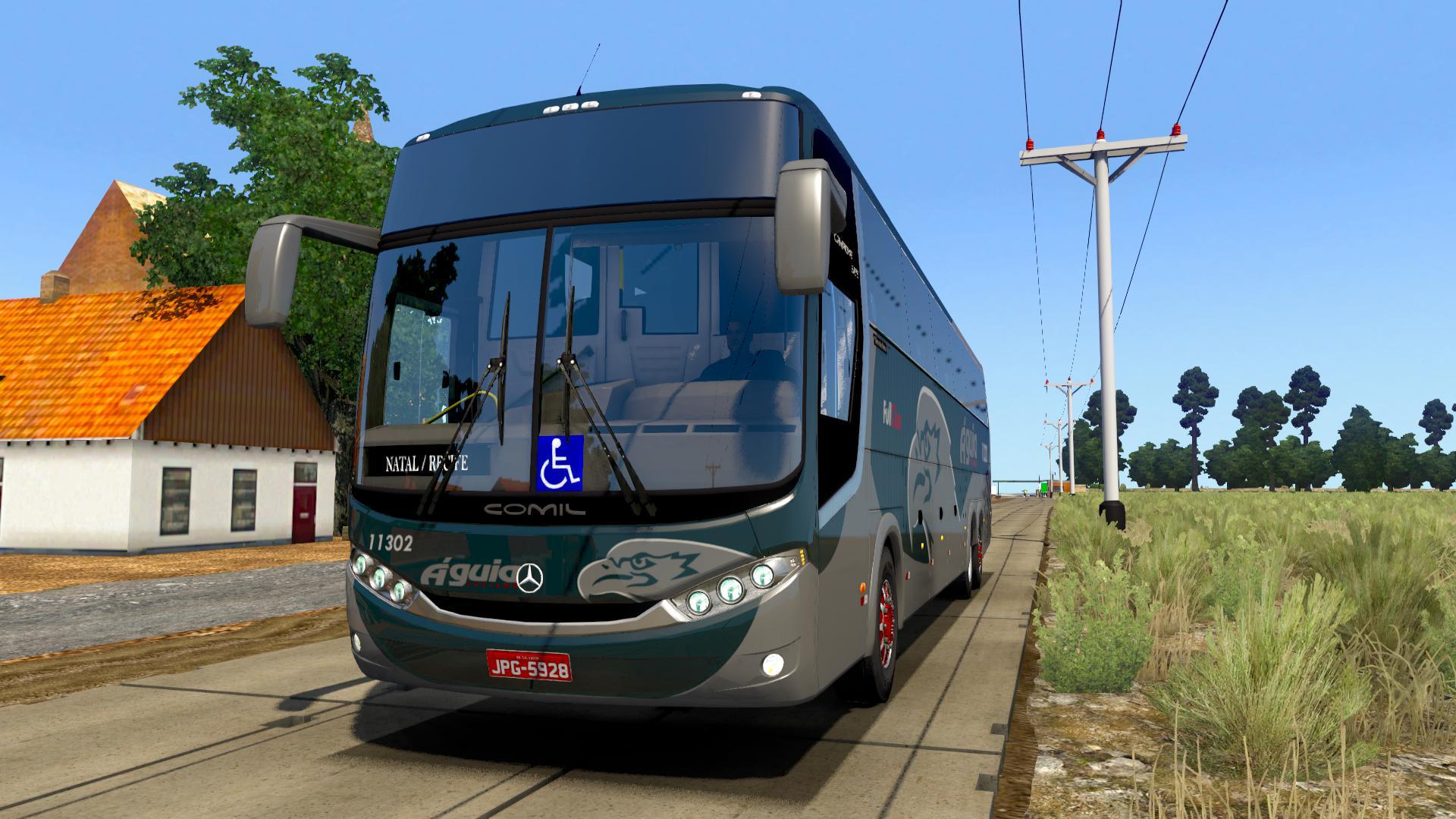 ETS2 - Mercedes Comil Campione 3.65 Bus Mod (1.38.x)