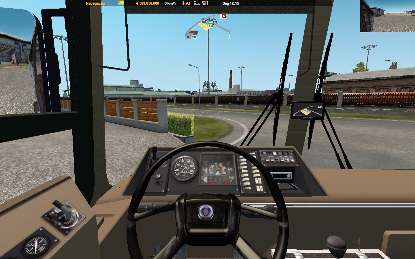 ETS2 - Nielson 250 Scania Apotech Games Bus V1.2 (1.36.x)