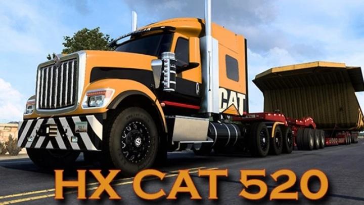 ATS - International HX520 Cat Skin V1.0 (1.41.x)