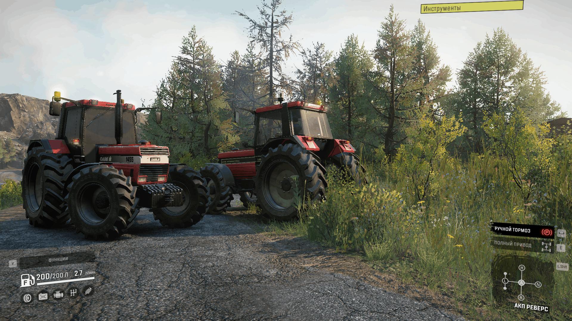 SnowRunner - Case Ih 1455 XL Tractor V3.0