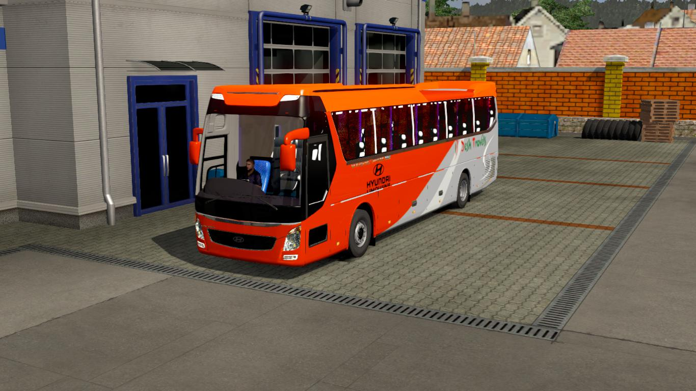 ETS2 - Hyundai UXN Reworked Bus (1.35 - 1.37)