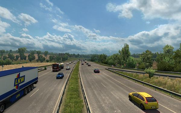 ETS2 - Traffic Dencity and Speed Limits (1.36.x)