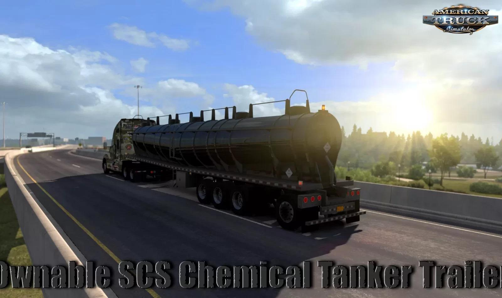 ATS - Ownable SCS Chemical Tanker Trailer (1.36.x)