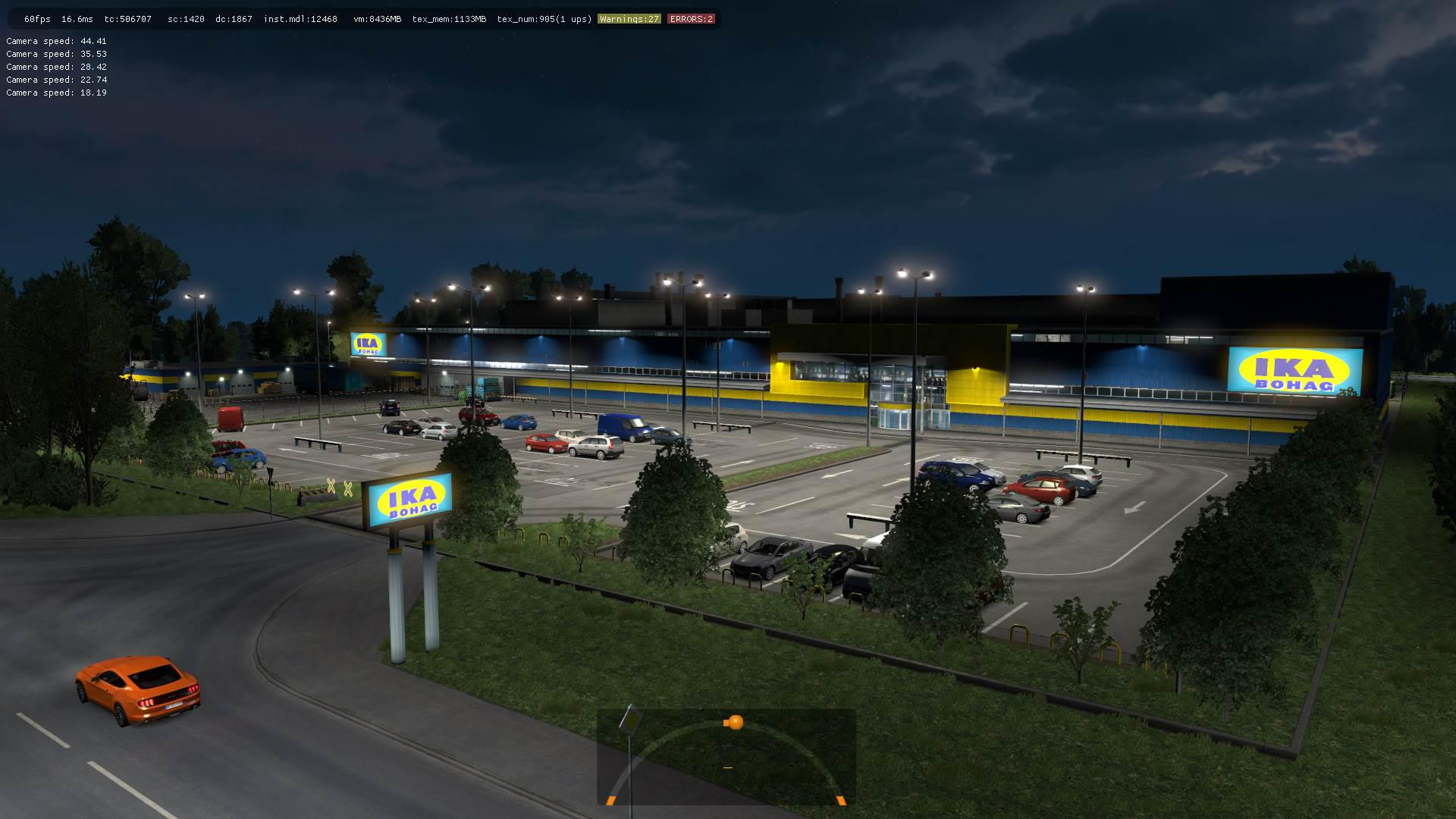 ETS2 - New Prefabs of Companies, Garages and Service Mod V2