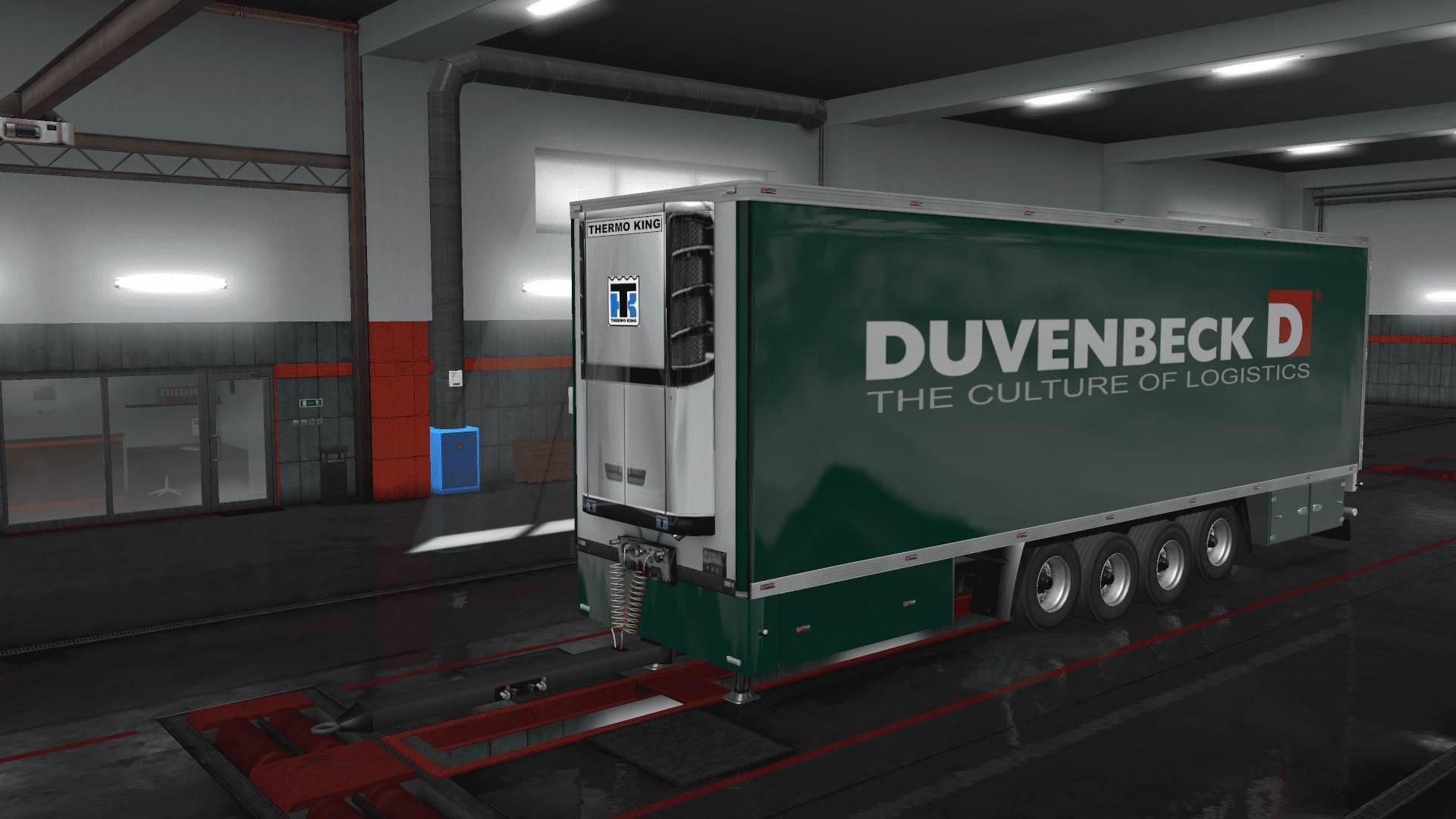 ETS2 - Duvenbeck Devil BDF Tandem Skin V1.0 (1.35.x)