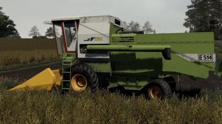 FS19 - Fortschritt E514 Harvester V1.0