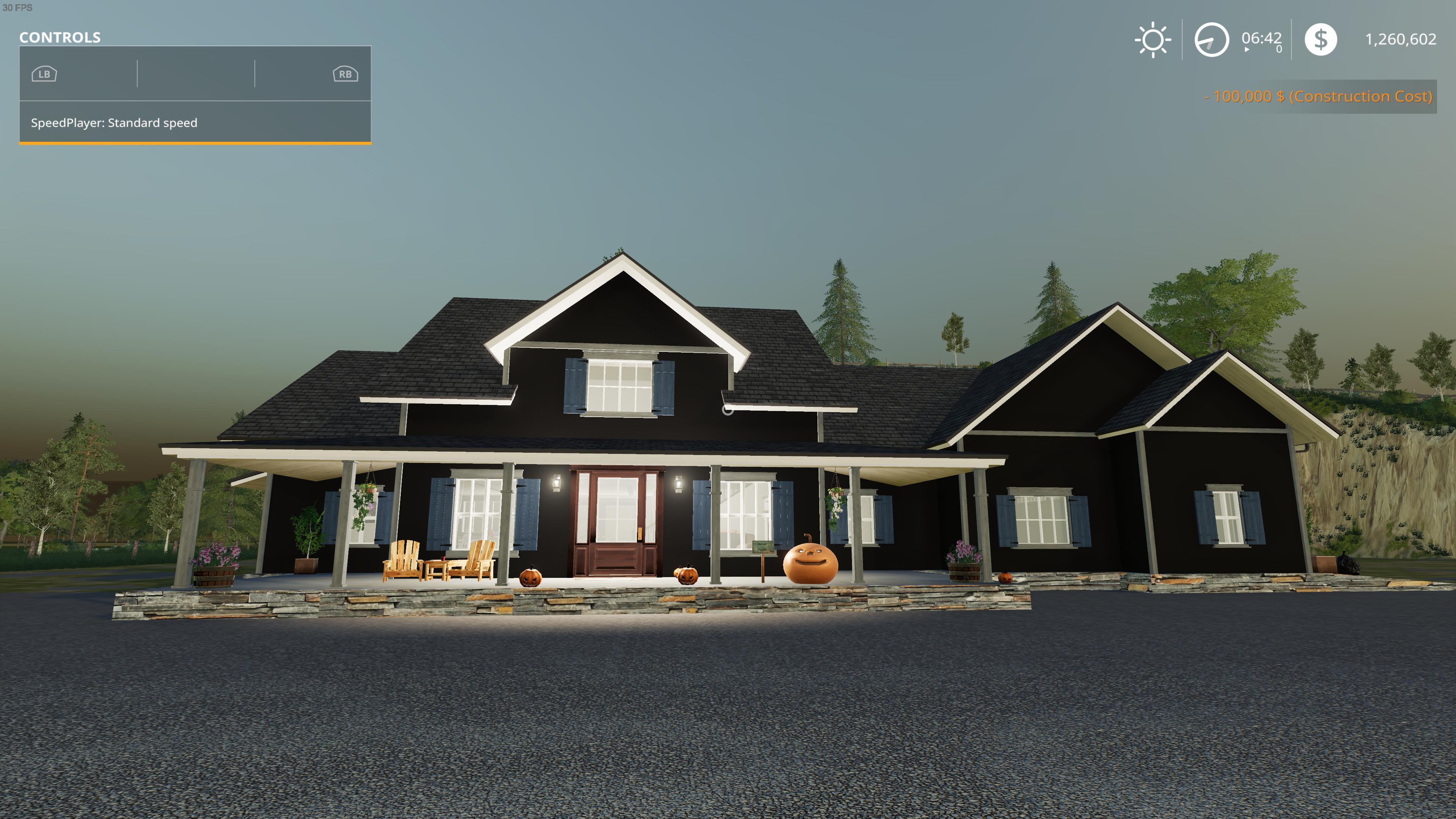 FS19 - Halloween House V1.0