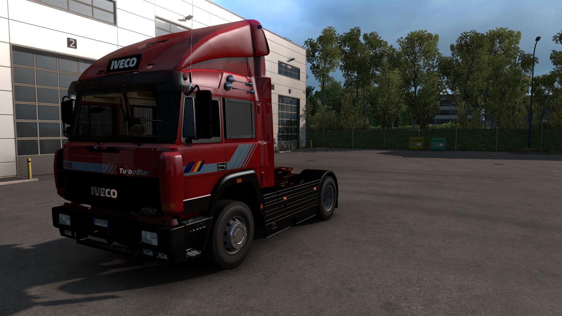 ETS2 - Iveco Turbostar Truck (1.38.x)