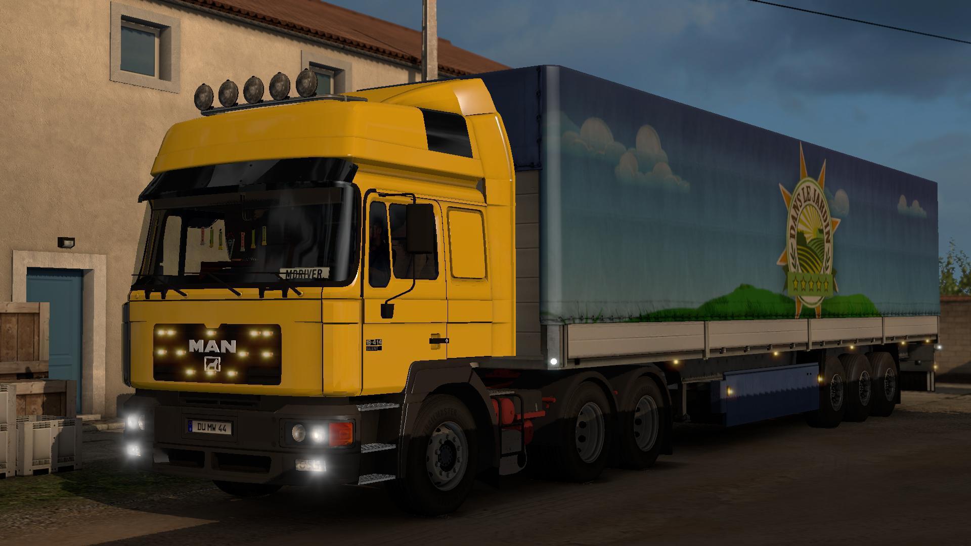 ETS2 - Man F2000 Truck (1.39.x)
