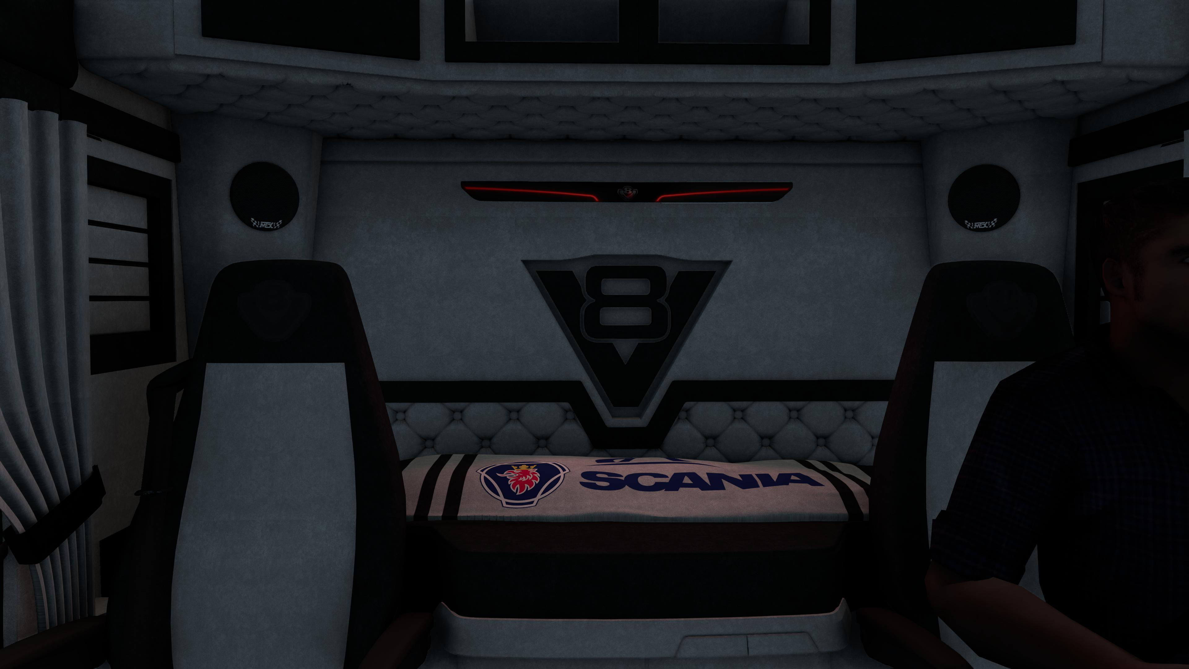 ETS2 - Scania S New Interior (1.39.x)