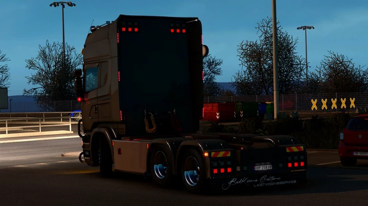 ETS2 - Rear Bumper for Scania NG BKC Accessory Pack (1.41.x)