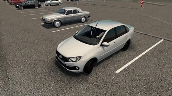 City Car Driving 1.5.9 - Lada Granta FL 2018 1.6i 16V
