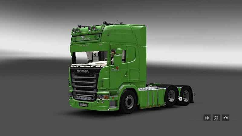 ETS2 - Scania R620 Bring Truck V3.0 (1.36.x)
