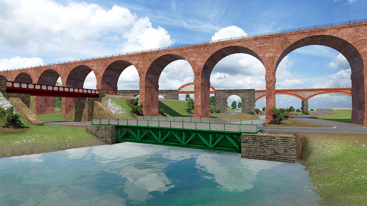 Transport Fever 2 - British Girder Bridges & Viaducts