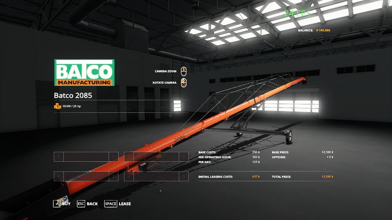 FS19 - Batco Augers V1.0