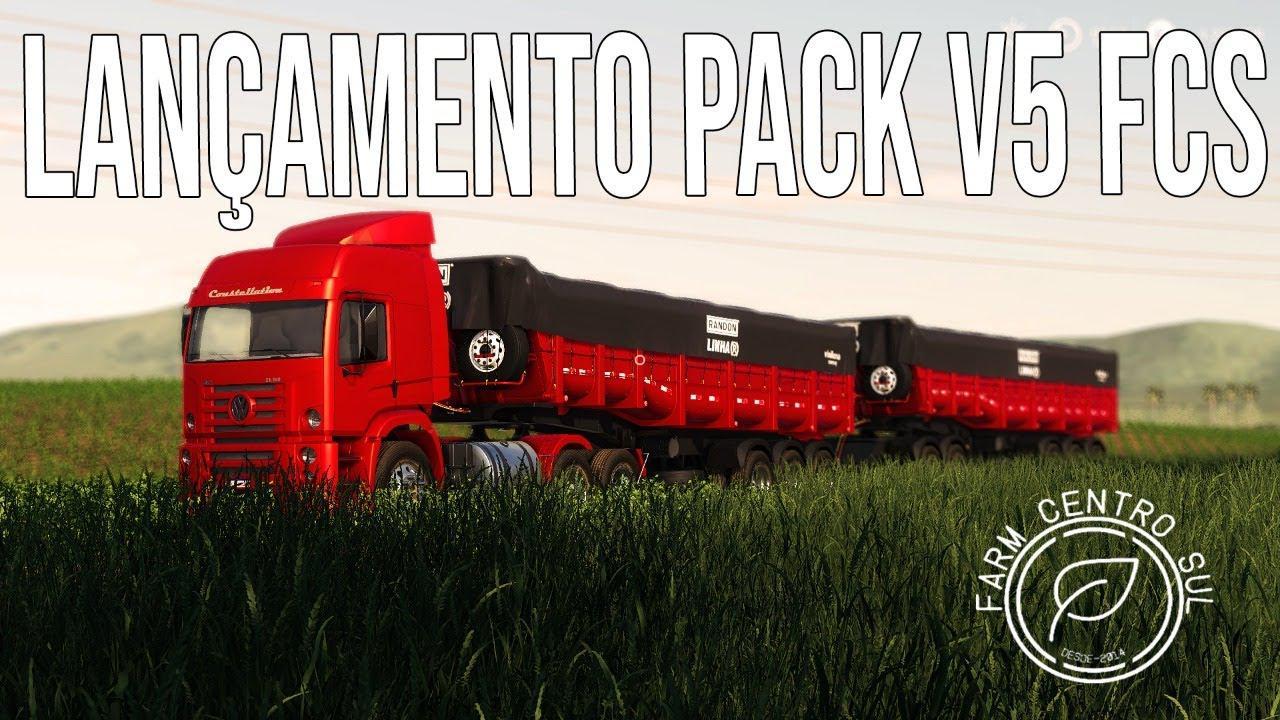 FS19 - Mega Pack Farm Centro Sul V5.0