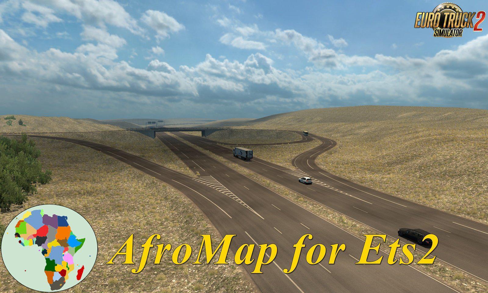 ETS2 - Afro Map V2.1 (1.37.x)