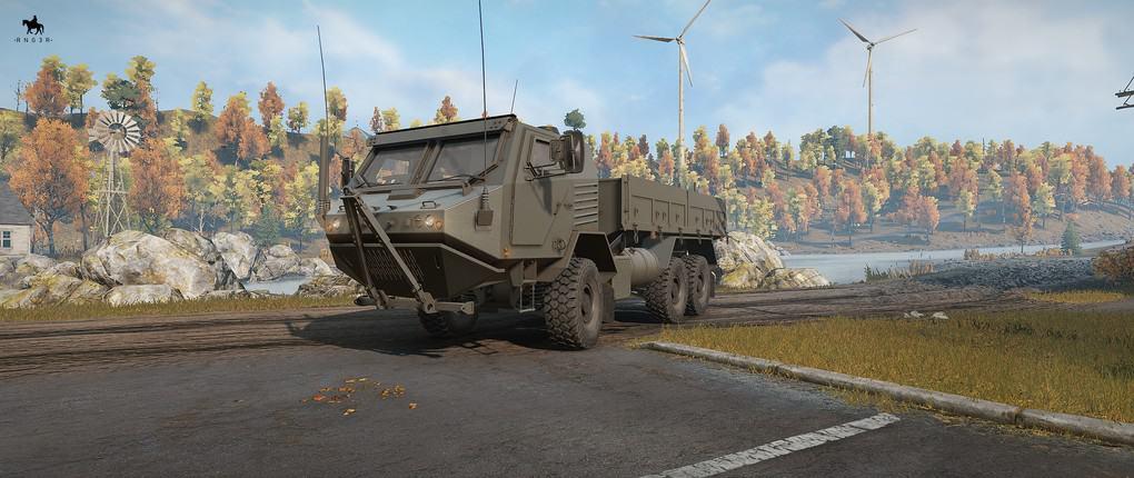 SnowRunner - RNG TX Armored Truck Pack V1.0