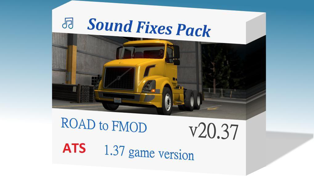 ATS - Sound Fixes Pack V20.37.2 (1.38.x)
