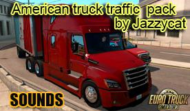 ETS2 - Sounds Pack for American Truck Traffic Pack (1.35.x)
