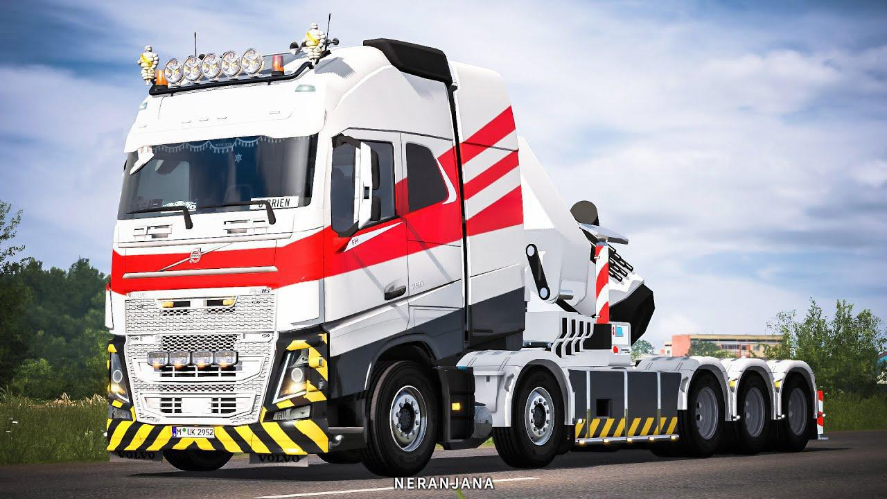 ETS2 - Volvo FH16 2012 Mega Mod V1.39.0.49S