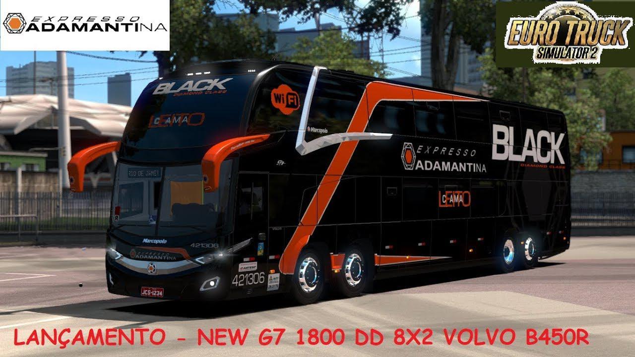 ETS2 - Marcopolo Paradiso New G7 1800 DD Volvo (1.36.x)