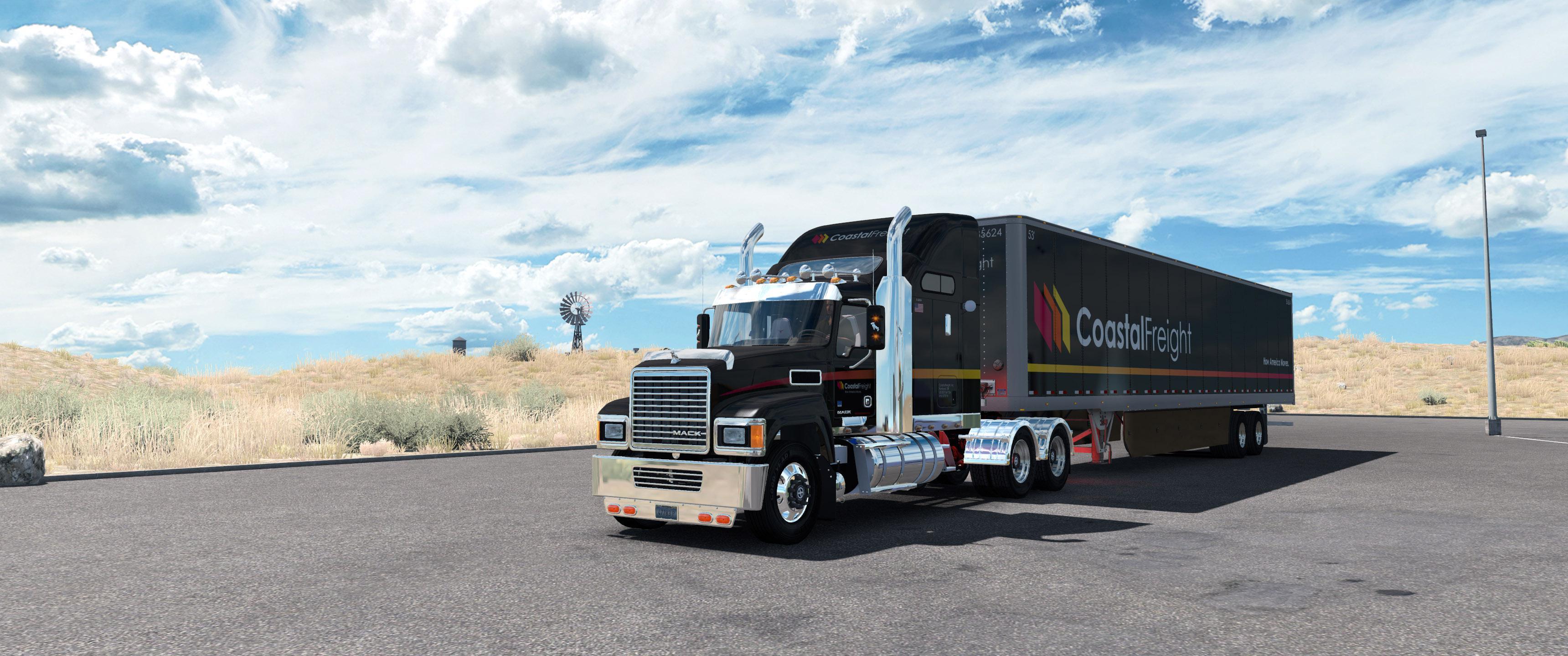 ATS - Mack CHU613 Truck V1.27 (1.35.x)