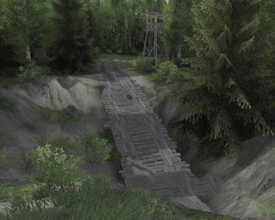 Spintires - Little Map V1.0