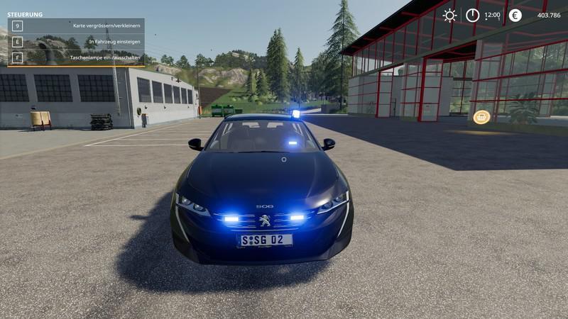 FS19 - Peugeot 508 SW 2019 Kripo V1.0