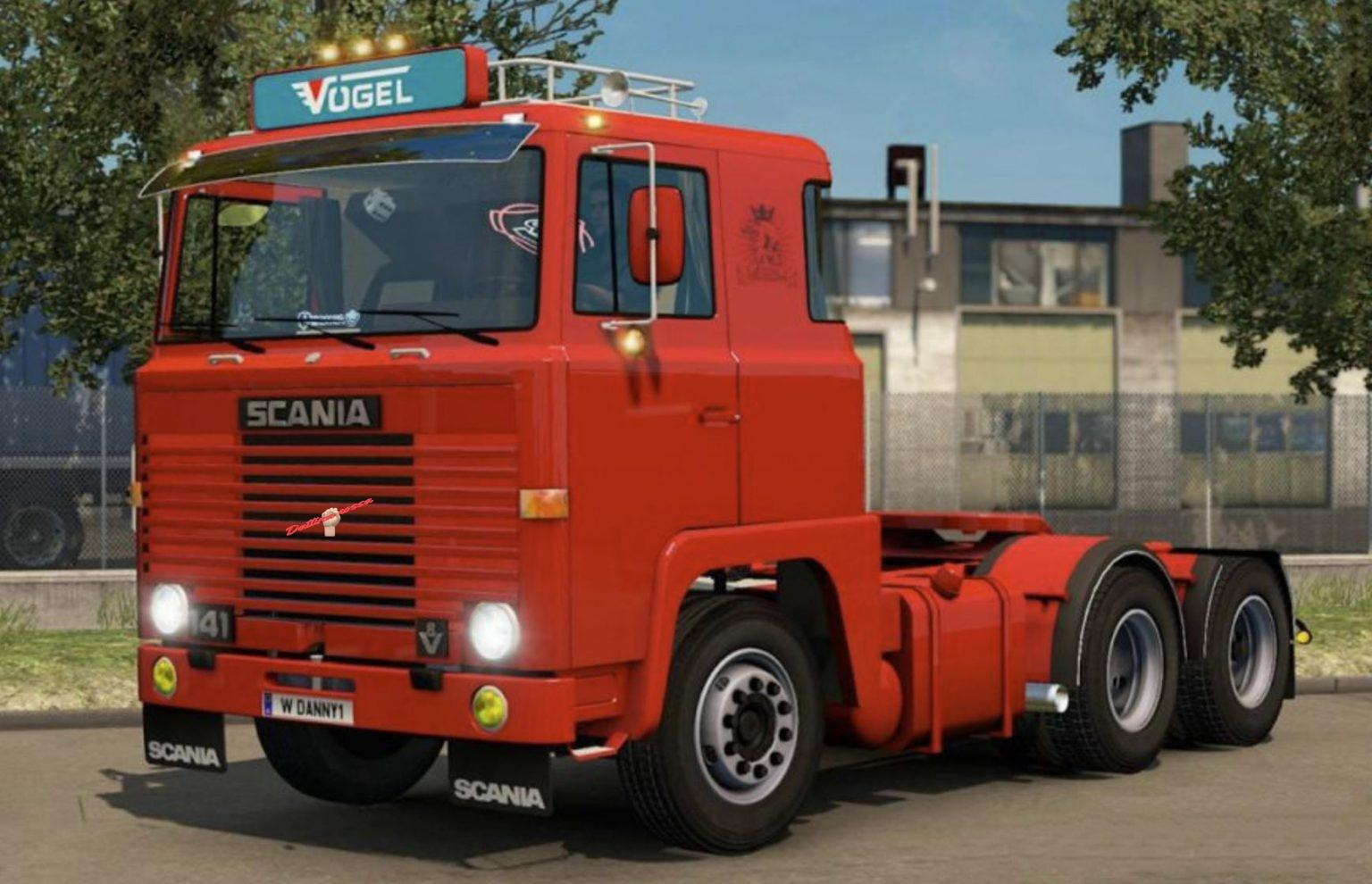 ETS2 - Scania 1 Series Fixed V2.0 (1.37.x)