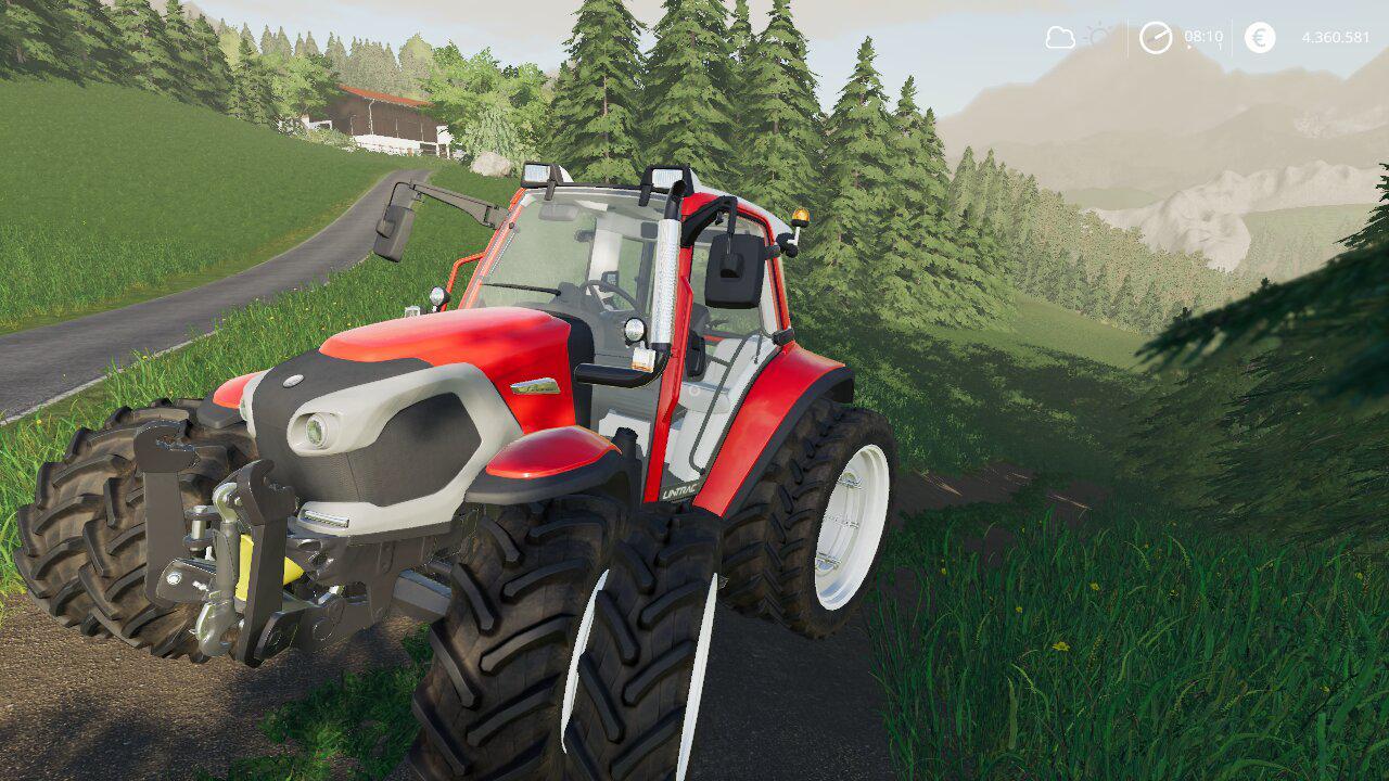 FS19 - Lindner Lintrac 90 Tractor V1.0