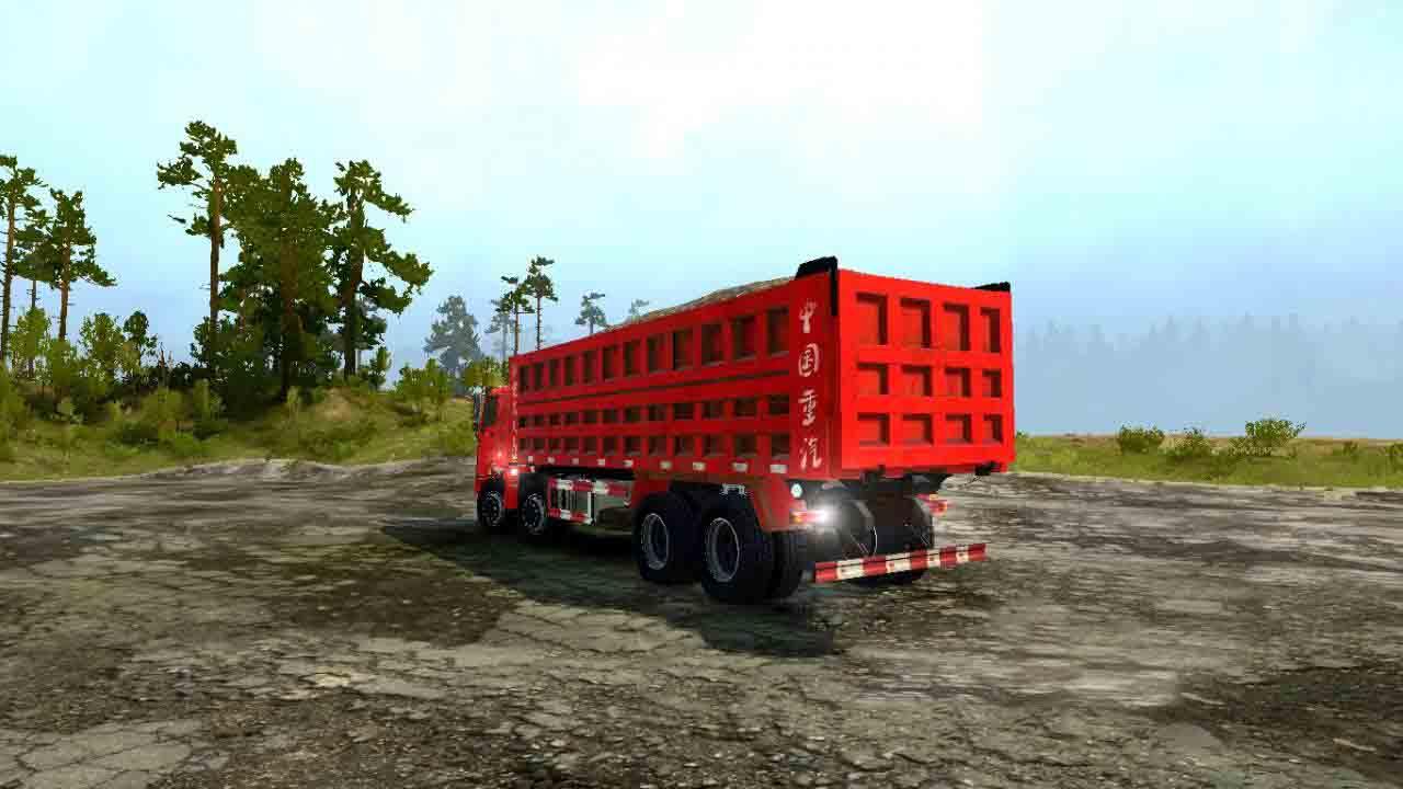 Spintires:Mudrunner - Howo Truck V1