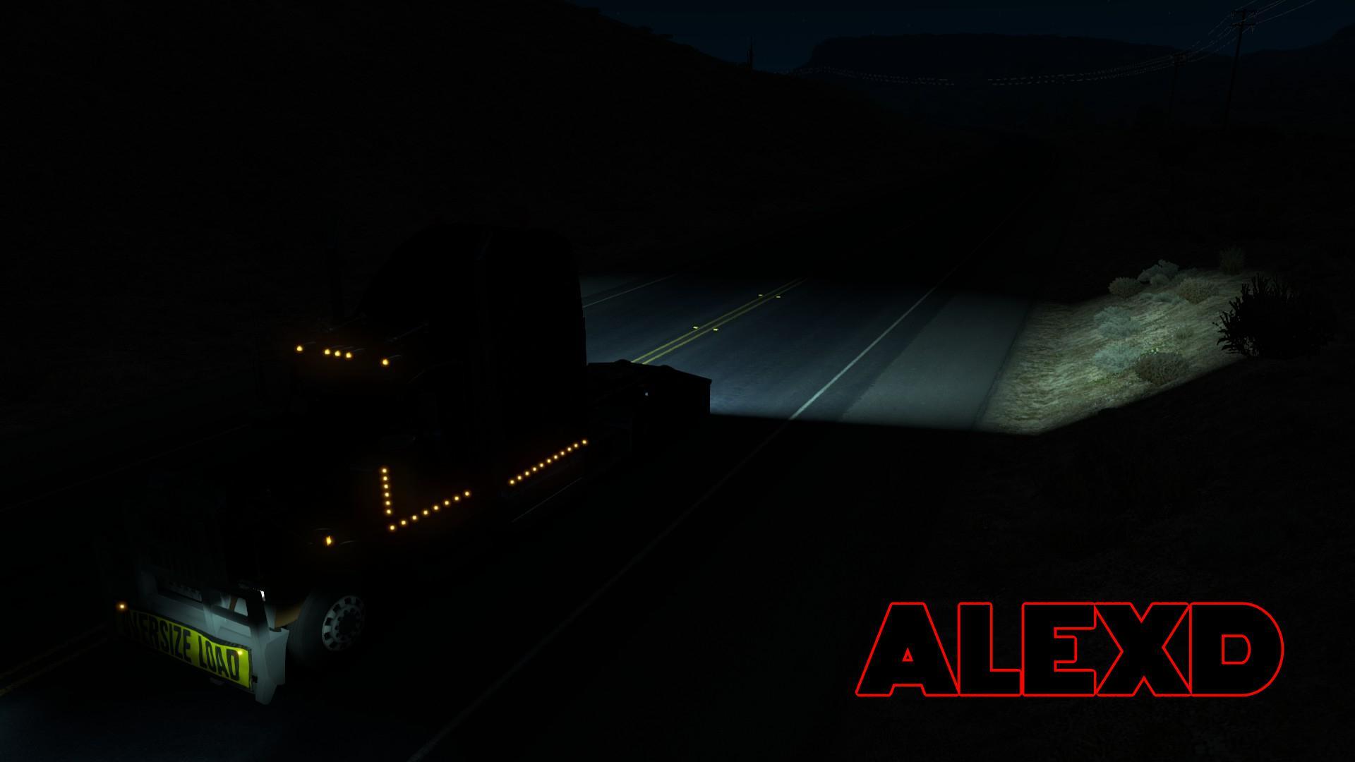 ATS - 5500K Reverse Lights (1.35.X)