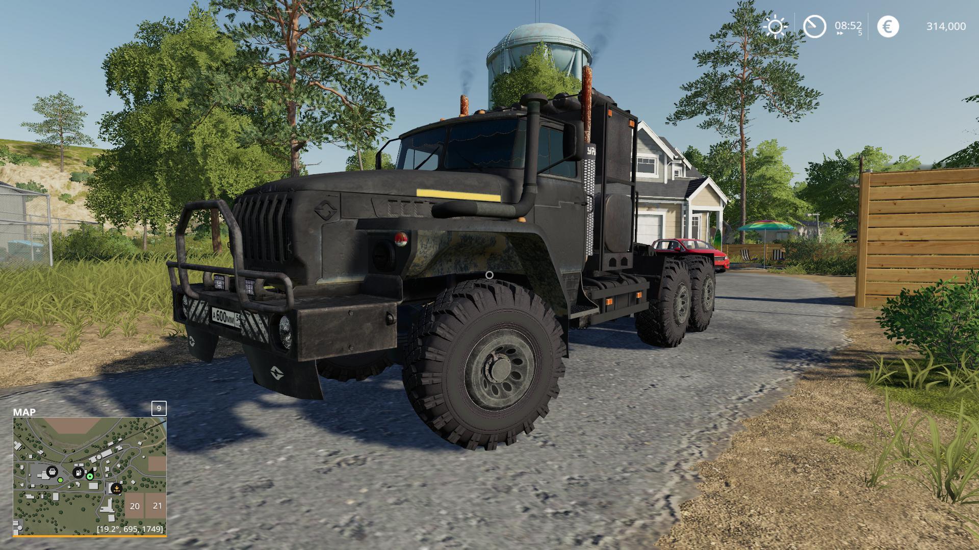 FS19 - Ural 4320 1912 Truck V1.0