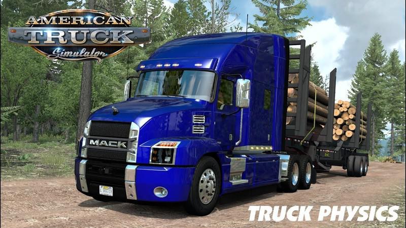ATS - Truck Physics V0.2 (1.39.x)