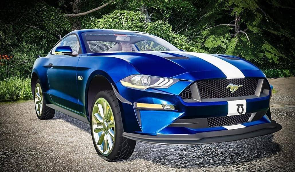 FS19 - Ford Mustang GT 2018 V1.0