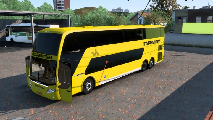 ETS2 - Busscar Panoramico DD 2009 (1.41.x)