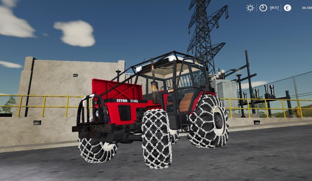 FS19 - Zetor 7745 Tractor Beta