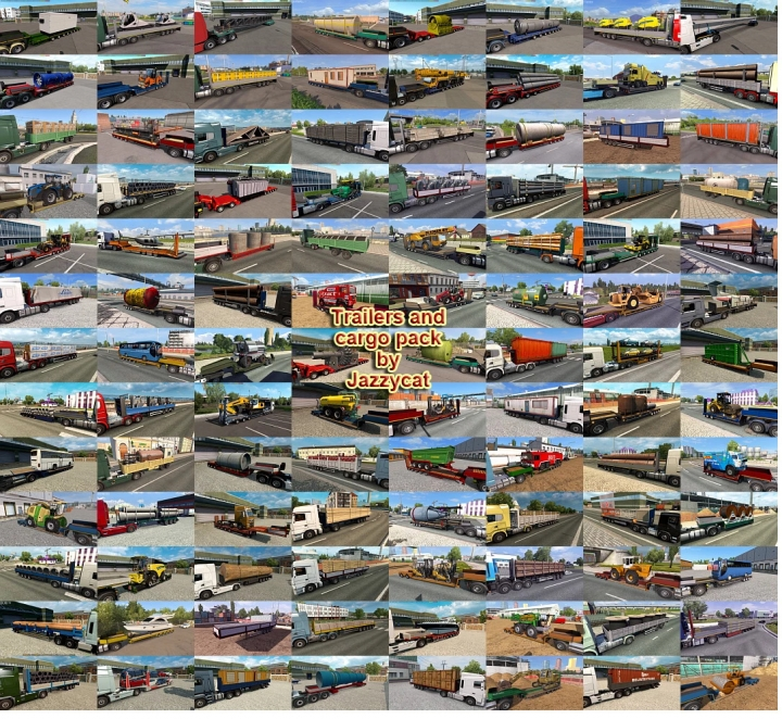 ETS2 - Trailers and Cargo Pack V9.6 (1.40.x)