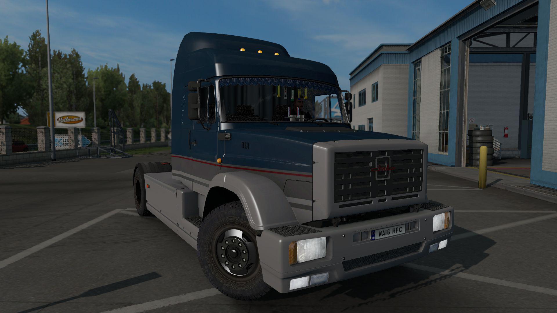 ETS2 - Zil-5423 Truck (1.36.x)