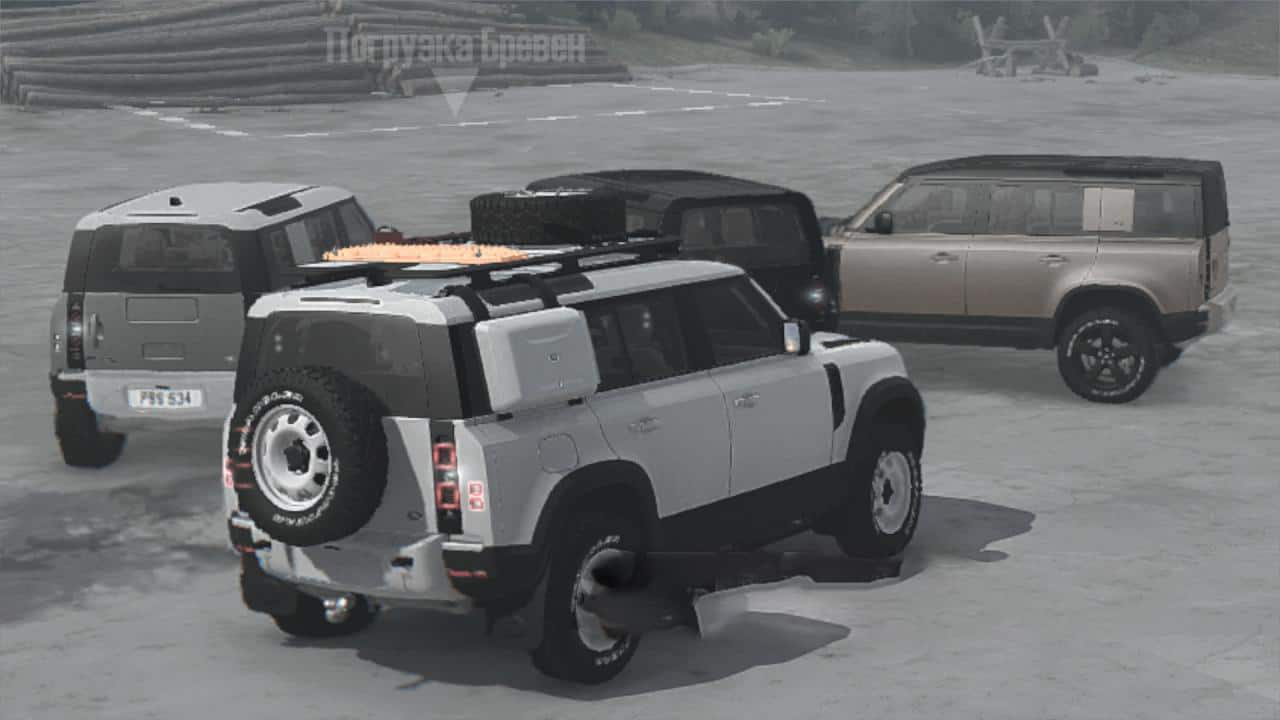 Spintires:Mudrunner - Land Rover Defender 2020 V1.0
