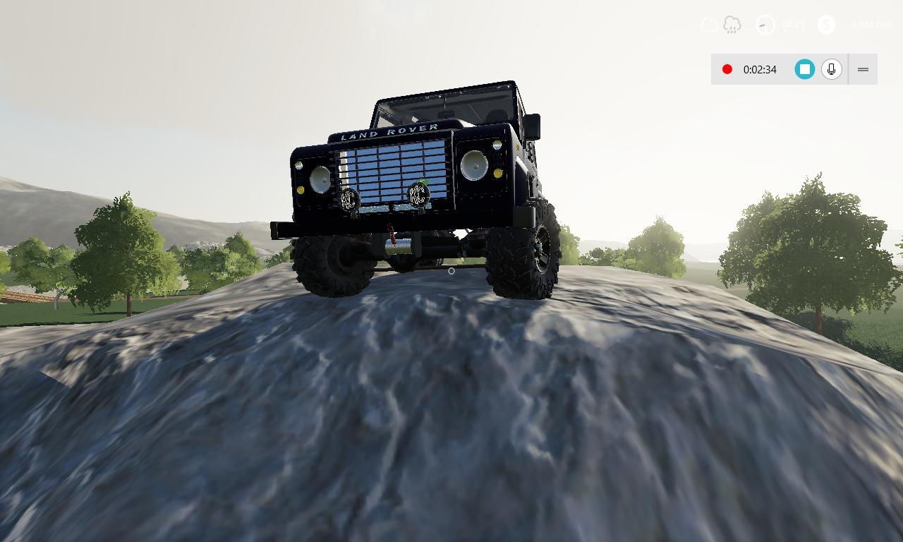 FS19 - Land Rover Defender 110 Station Wagon 2011 V1.0